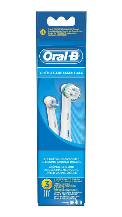 Ortho Care Essentials 3-pack OralB