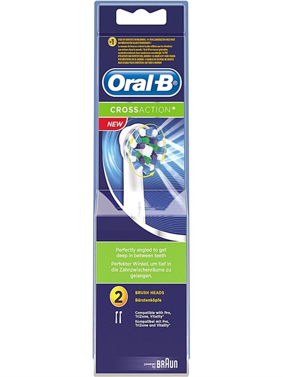Cross Action 2-pack OralB